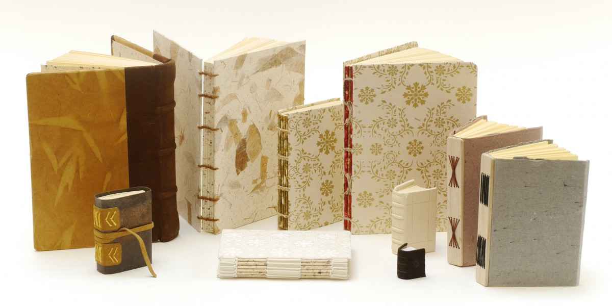 Long and link stitch bindings