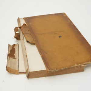 Early 19th century binding with detached boards