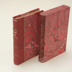 French style classic rebinding of Dickinson poems with slipcase