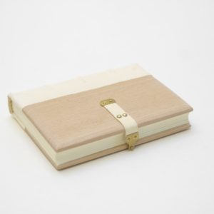 Gothic binding in white goat and beechwood