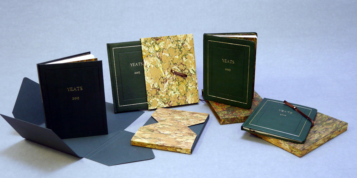 Yeats 2015 binding gifted to presidents Obama, Biden and Higgins